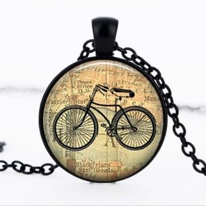 Jewelry - Bicycle Necklace New